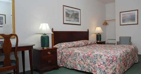 ADA Accessible Guest Room at the Northern Inn