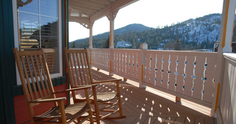Balcony View Suite at the Northern Inn
